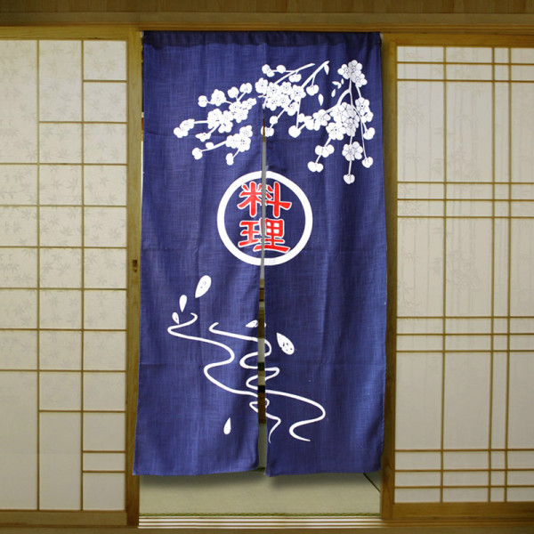 Rèm Noren màn cửa kiểu Nhật đặc trưng kinh doanh của xứ sở Phù Tang
